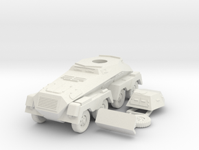 1/100 (15mm) SdKfz 232 in White Strong & Flexible