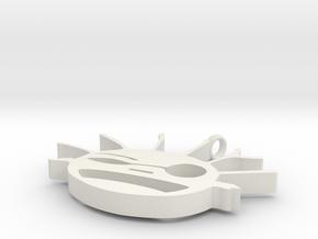 moleculeMan in White Natural Versatile Plastic