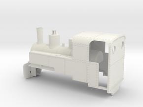 B-1-55-decauville-8ton-060-closed-roco-1a in White Natural Versatile Plastic