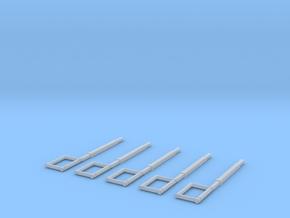 Schlauchführung für das HFS System (Eingeschoben)  in Frosted Ultra Detail