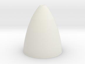 07-J mission-Descent Engine in White Natural Versatile Plastic