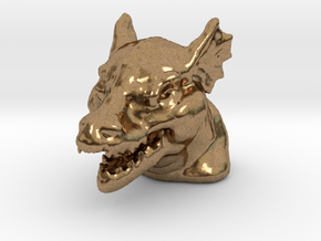 DRAGON MONOPOLY PIECE in Natural Brass