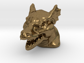 DRAGON MONOPOLY PIECE in Natural Bronze