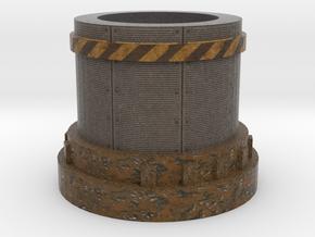 Pedestal2 for miniatures Industrial in Full Color Sandstone