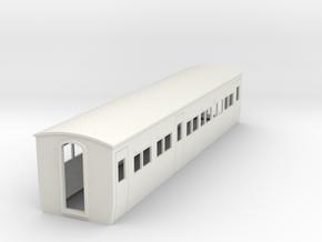 009 colonial modern composite coach in White Natural Versatile Plastic