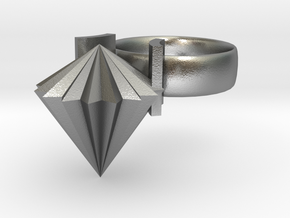 Limpit Ring in Natural Silver