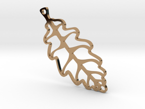 LEAF in Polished Brass