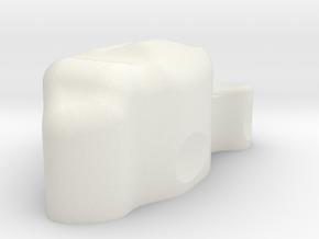 Medium Asteriod #1 in White Natural Versatile Plastic