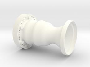 RCS Engine 1:1 Upper for Housing in White Processed Versatile Plastic