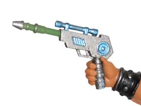 Savage Laser Pistol in White Strong & Flexible Polished