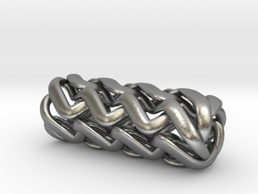 Tubulos - 40mm in Natural Silver