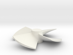 73x50 4B LH Kaplan Scaled 2 in White Natural Versatile Plastic