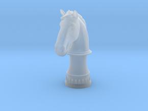Wild Horse (Round Base) in Smooth Fine Detail Plastic