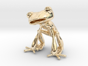 Frog in 14K Yellow Gold