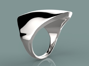 Flight of The Navigator in Polished Silver