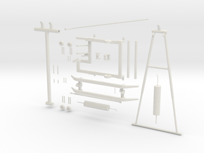 Pantograph PIECES in White Strong & Flexible