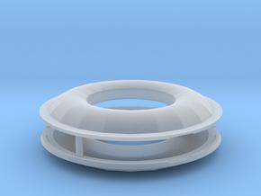 1/72 Scale SRB Heat Shields in Smooth Fine Detail Plastic