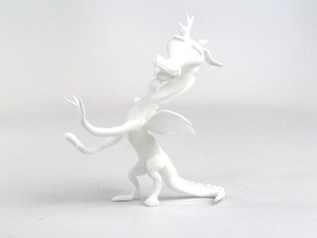 My Little Pony - Discord (≈100mm tall) in White Natural Versatile Plastic