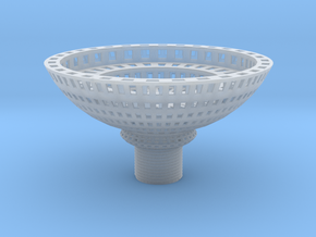 Candle Holder Wire .7 mm Top in Smooth Fine Detail Plastic