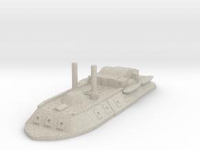City Class gunboat 1/600 in Sandstone