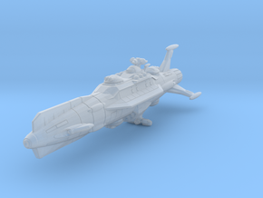 EDSF Battlecruiser Dresden (small scale) in Smooth Fine Detail Plastic