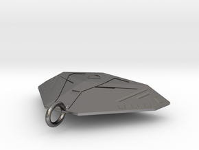 Cobra Keyring in Polished Nickel Steel