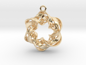 The Six Pointed Star in 14K Yellow Gold