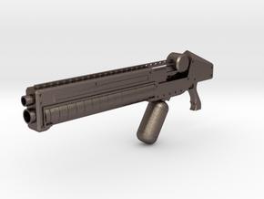 print gun in Polished Bronzed Silver Steel