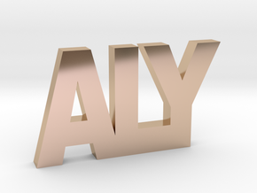 ALY in 14k Rose Gold