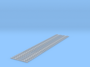 2 Pce L23cm H0m 1/87 12mm Gauge Betonschwelle VöV- in Smooth Fine Detail Plastic