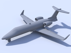 1:200 - Bombardier Learjet 45 (M) in Smooth Fine Detail Plastic