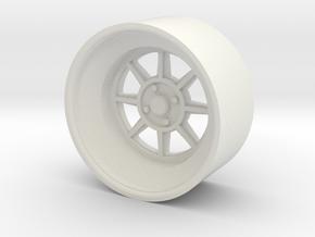 vintage jdm rim #2 17 inch in White Natural Versatile Plastic