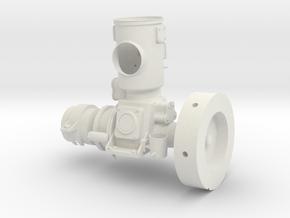 Kromhout Motor M0 1/6 Teil 1 in White Strong & Flexible