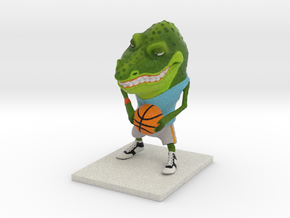 B Ball Gator in Full Color Sandstone