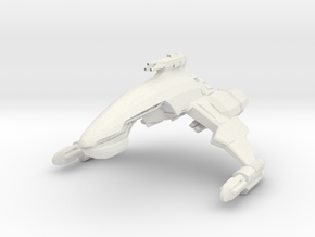 Kan Class Destroyer in White Strong & Flexible