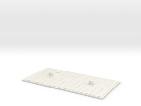 Venkman Base in White Natural Versatile Plastic