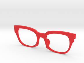 Frame F 009  in Red Strong & Flexible Polished