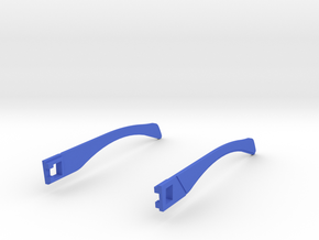 Temple T 005  in Blue Strong & Flexible Polished