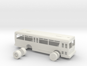 HO scale TMC citycruiser T-30 (Orion I) in White Strong & Flexible