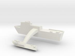 Swift Boat Cufflinks (Pair) in White Natural Versatile Plastic