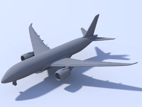 1:200 - Boeing 787-8 Dreamliner (XXL) in Frosted Ultra Detail