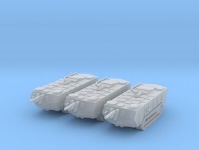 1/200 Saint-Chamond tanks (3) in Smooth Fine Detail Plastic