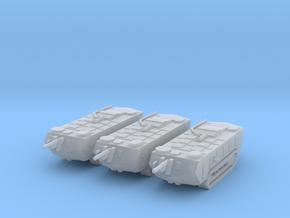 1/200 Saint-Chamond tanks (3) in Smooth Fine Detail Plastic