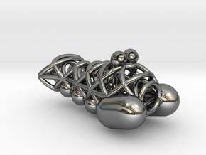 Shrimpy 2.0 in Fine Detail Polished Silver