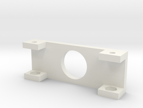 """20x4 LCD Mounting Bracket 1"""" in White Strong & Flexible"""