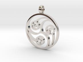 Trinity Pendant in Platinum