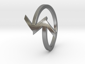Arrow Ring (Size 7) in Natural Silver