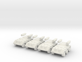 Recon [4 Pack] in White Natural Versatile Plastic