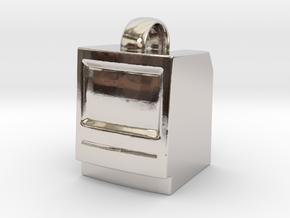 Macintosh SE/Plus Keychain item [25mm] in Platinum