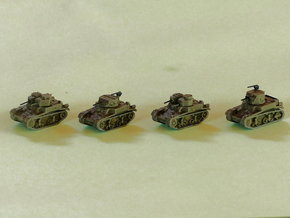 M1 & M2 Combat Cars / Light Tank 1/285 6mm in Frosted Ultra Detail